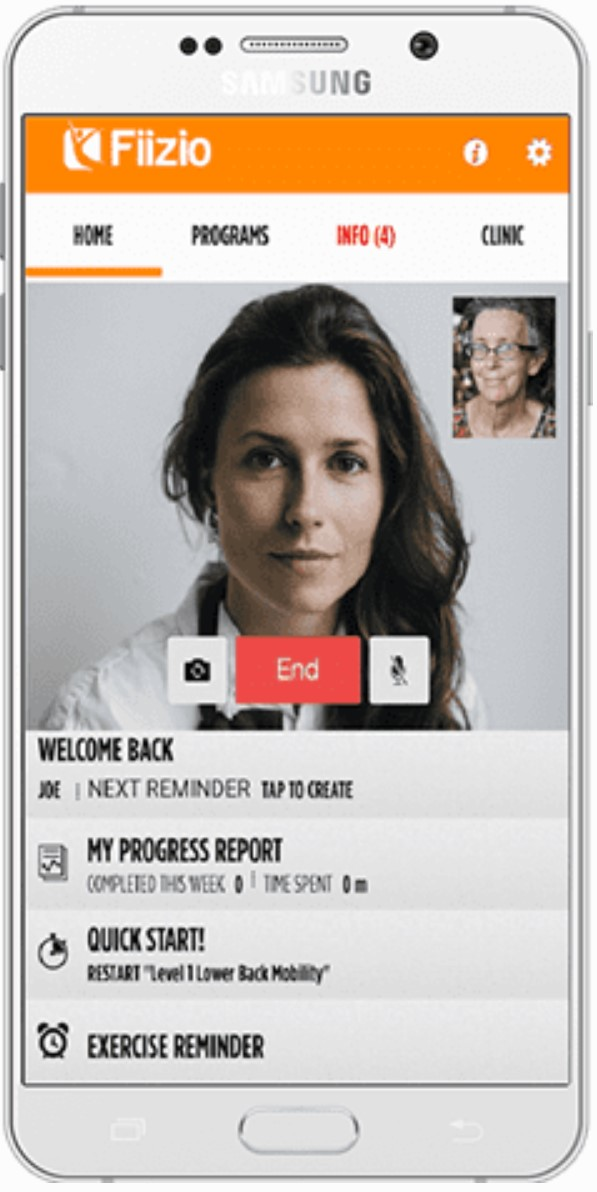 Integrated, Built-in Telehealth