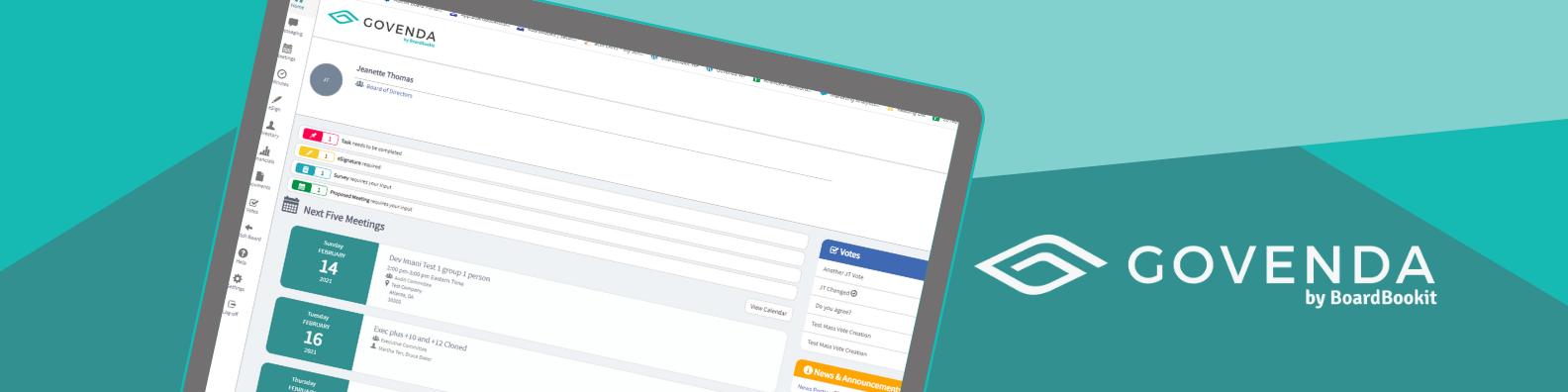 Govenda Software - The Smart Board Management Solution
