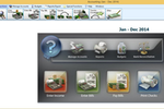 Church Windows screenshot: Church Windows accounting module allows to enter income & bills and print reports