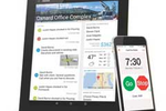 ExakTime screenshot: The companion time clock app brings workforce management to compatible mobile devices