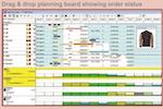 FastReact screenshot: View order status with Fast React  Evolve applicaiton
