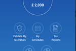 SimpleTax screenshot: Check tax due via iOS and Android mobile app