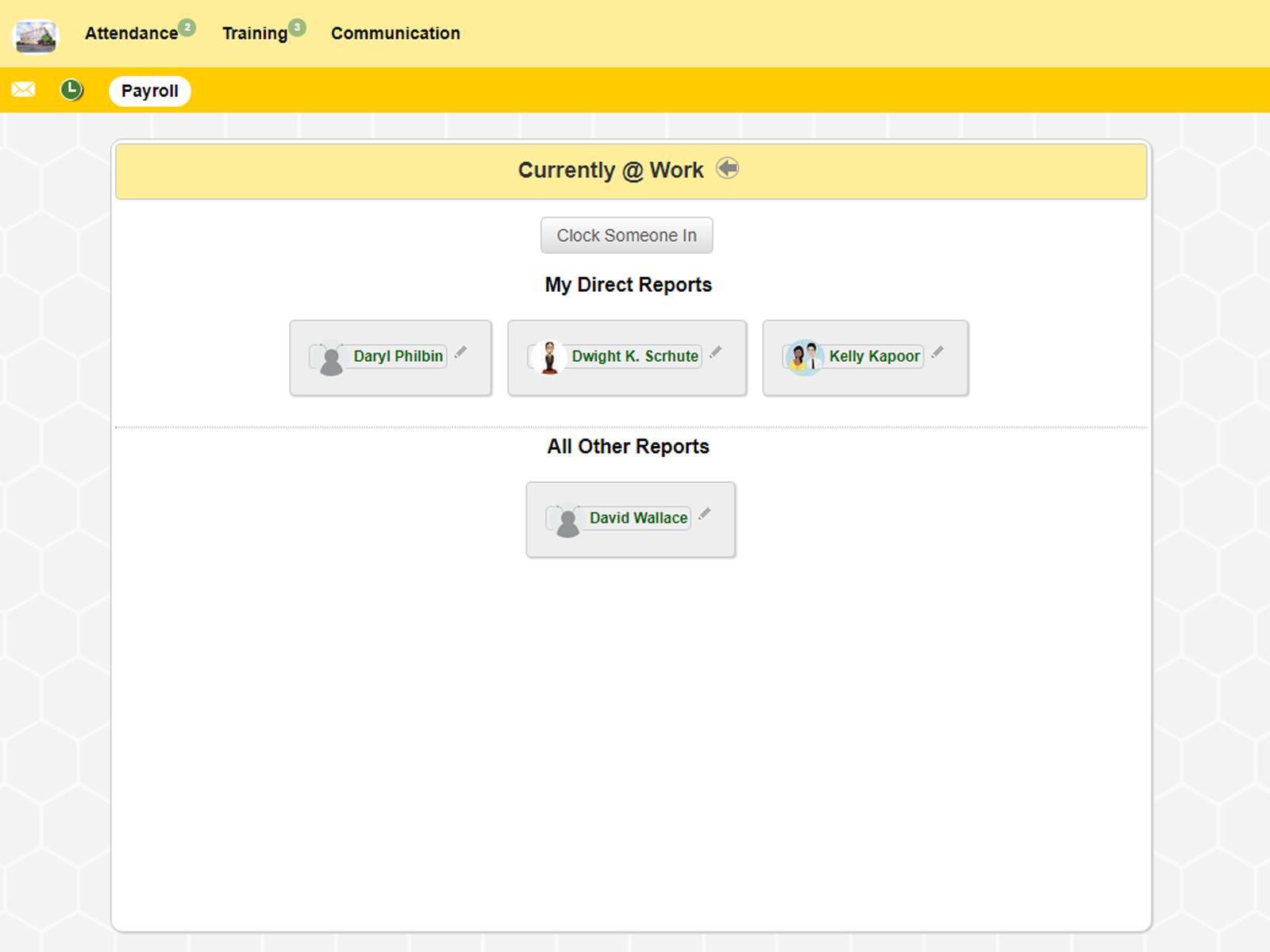 honeybeeBase Software - honeybeeBase - Manager clock