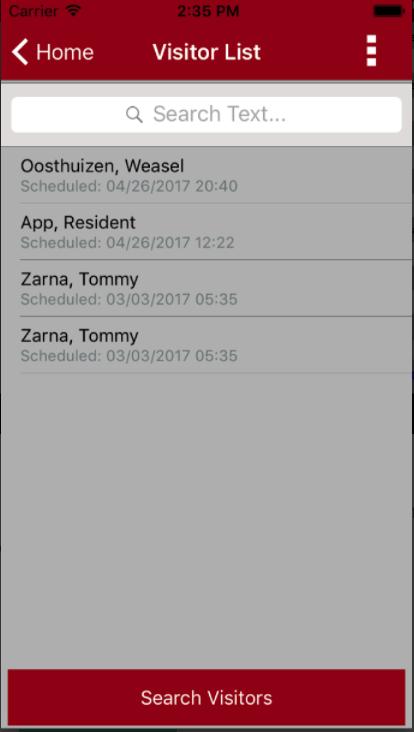 TEKWave visitor list