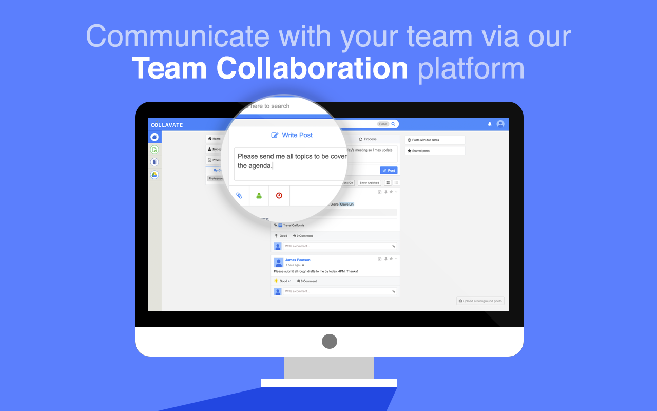 Collavate Team Collaboration