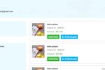 TagMyOrder screenshot: TagMyOrder item list