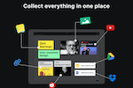 Capture d'écran pour BeeCanvas : Collect everything in one place.