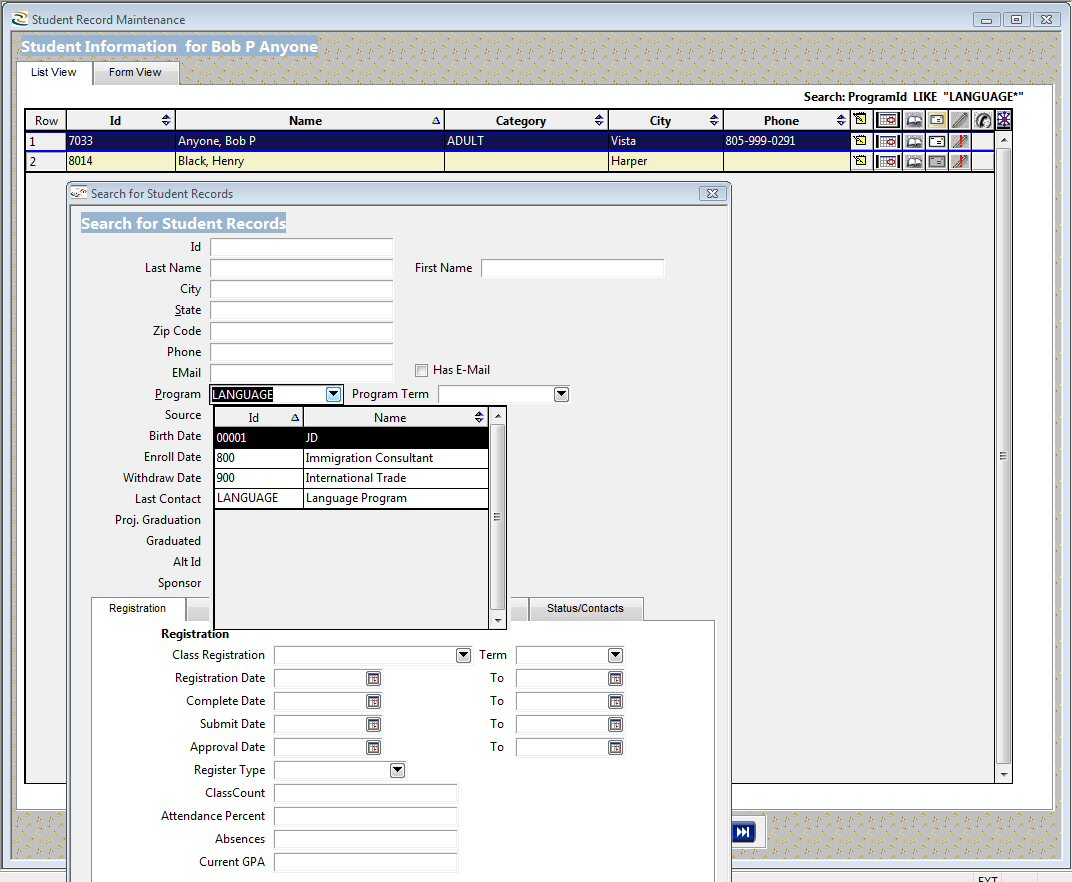 PowerVista RollCall screenshot: Easy to generate and export reports with RollCall