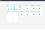 Capture d'écran pour Datagate : The Datagate dashboard gives you an overview of billing by period. As Datagate collects and processes CDR information automatically, it checks to make sure everything is setup correctly.