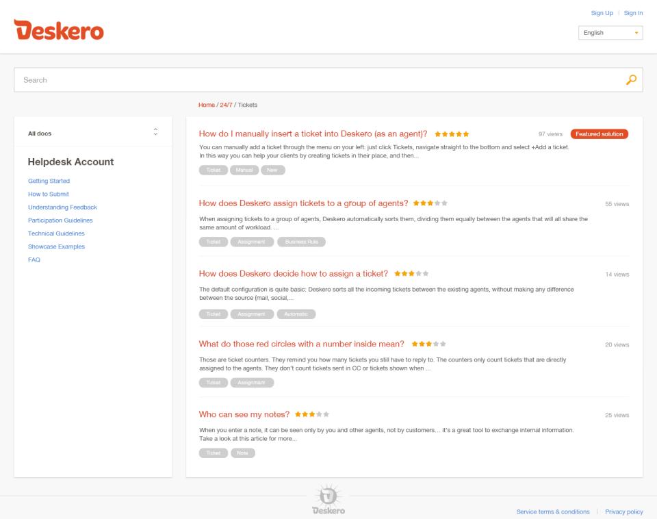 Deskero Software - 5