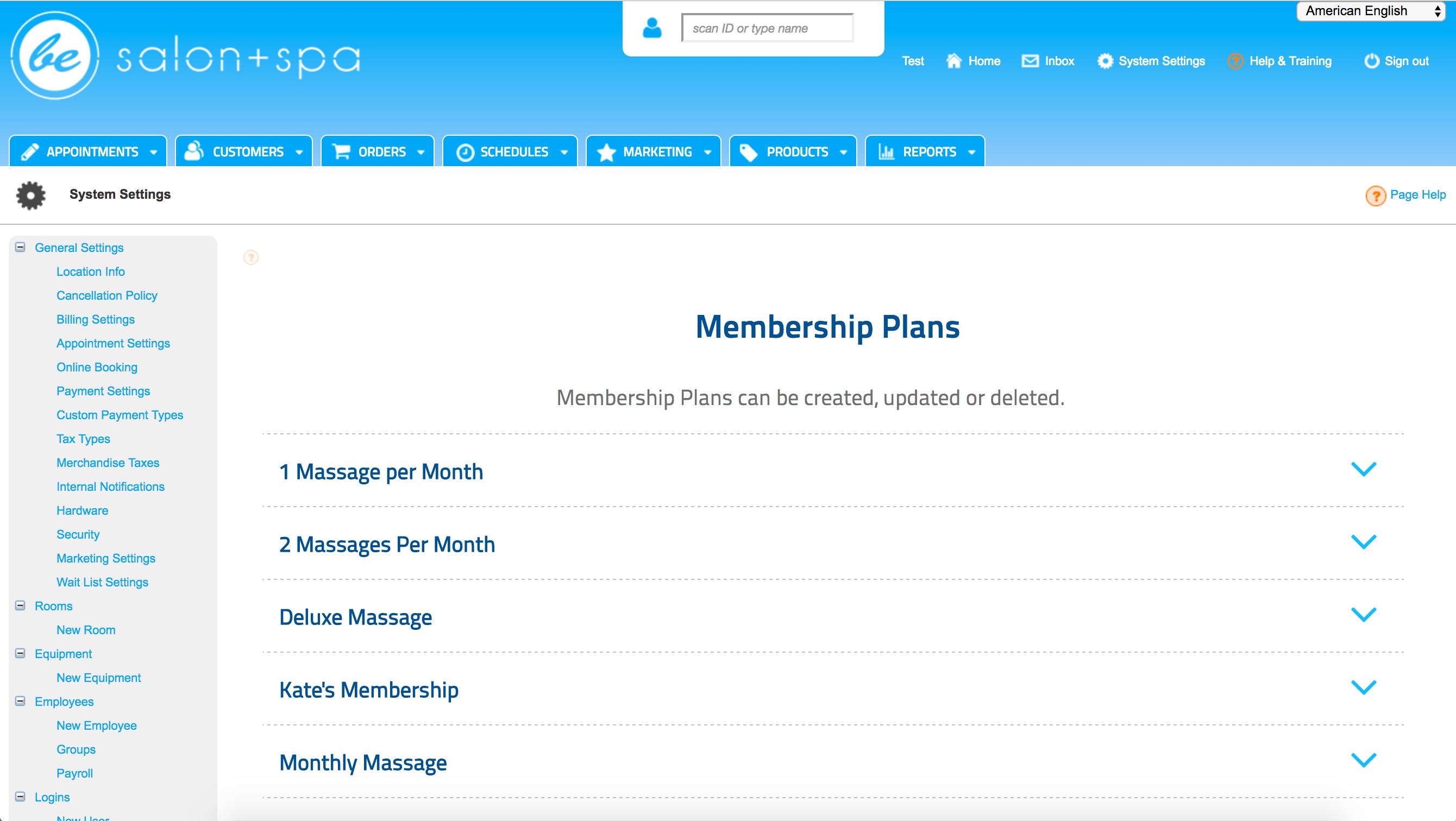 Booker Software - Booker Memberships