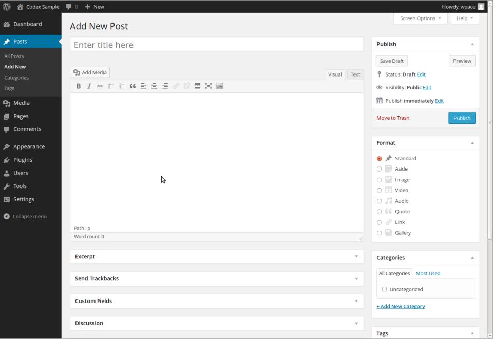 WordPress Software - 2
