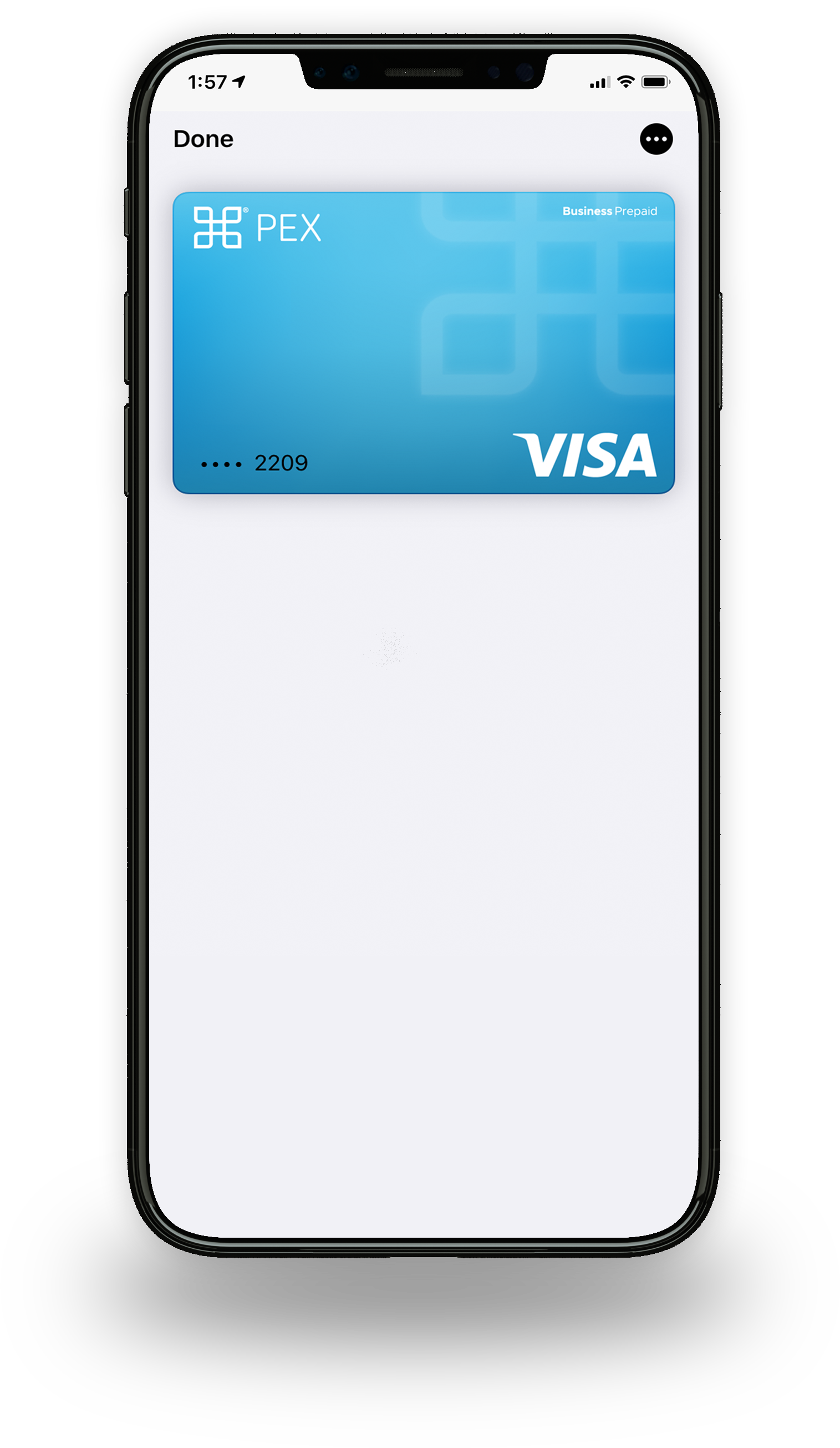 The PEX Virtual Card brings contactless payments right to your smart phone