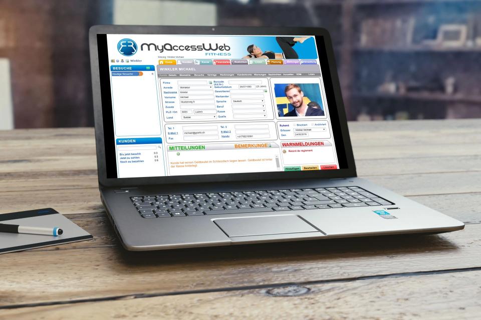 MyAccessWeb Software - 2