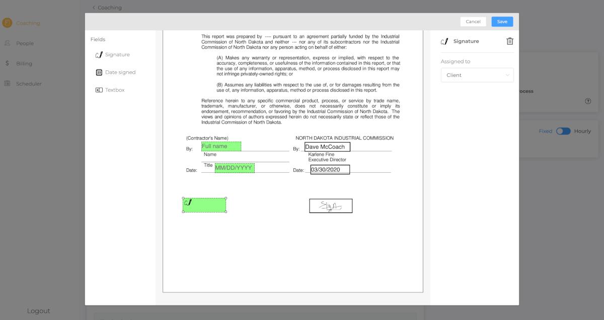 Qwoach Software - Qwoach eSignature
