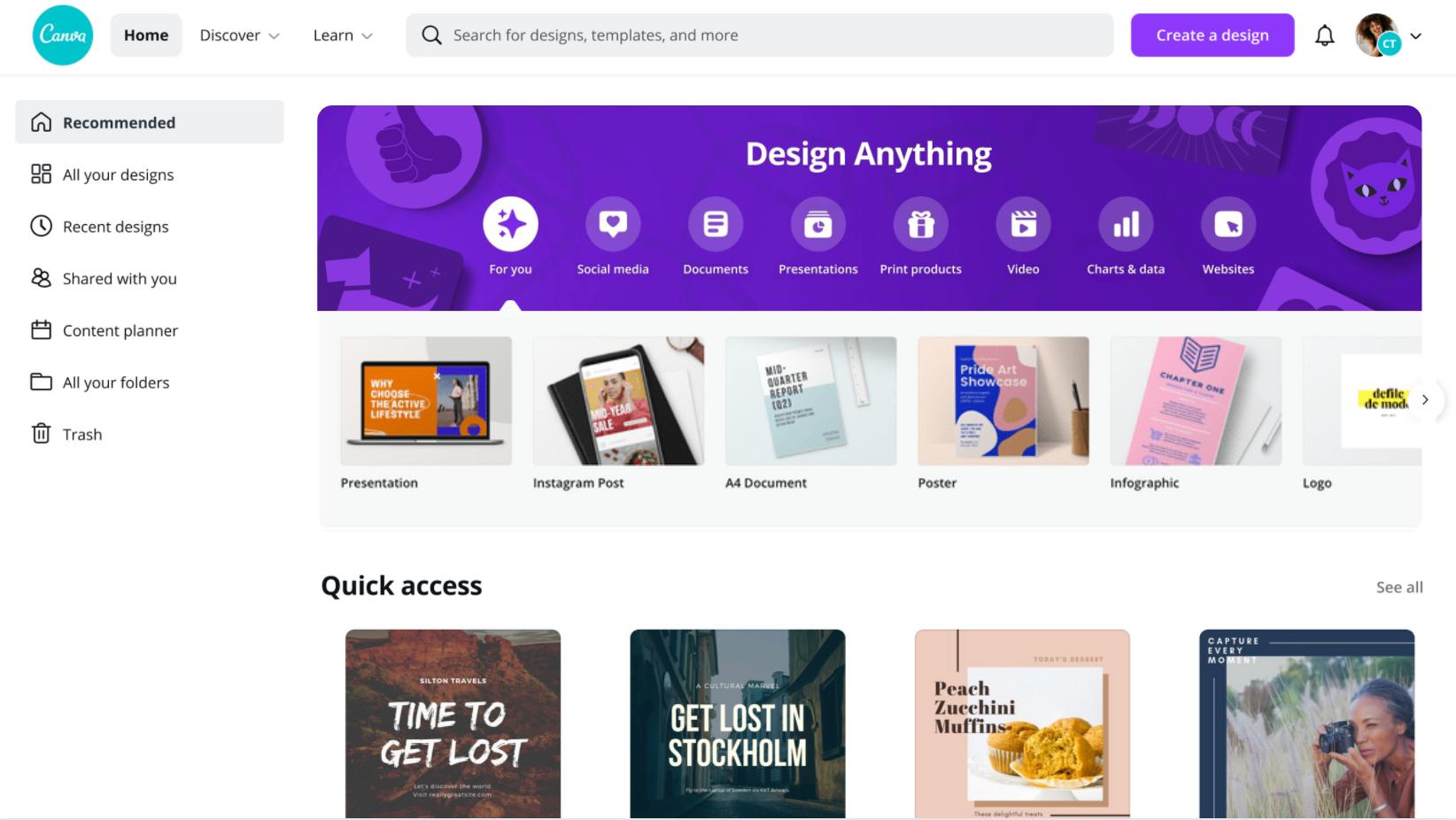 Canva Pricing, Features, Reviews & Alternatives   GetApp