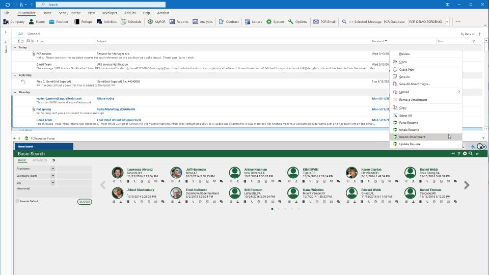 Outlook Portal
