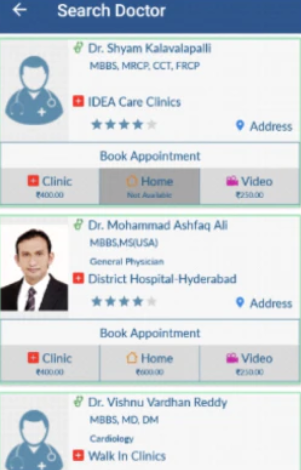 NHCircle search doctor