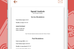 AUTOsist screenshot: Generate spend analysis reports