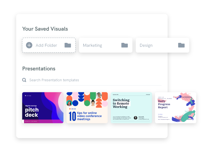 Piktochart - visuals and presentations