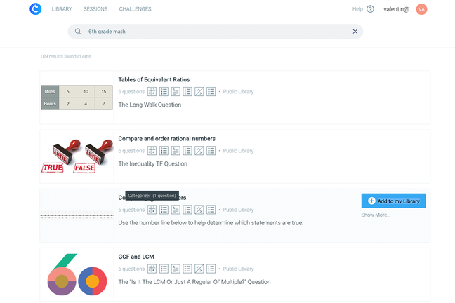 Classtime Software - Classtime interactive assessment
