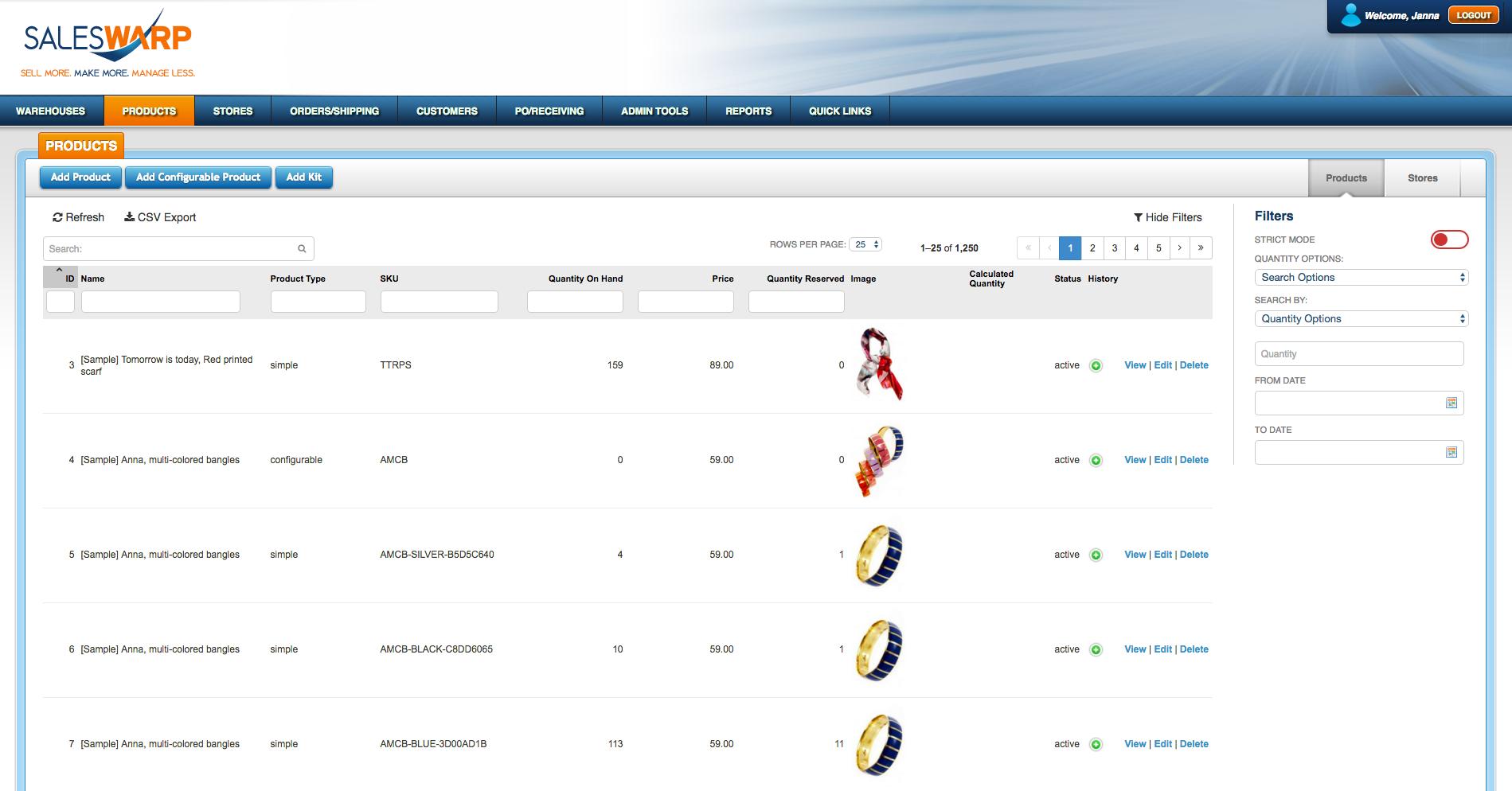 SalesWarp Software - 4