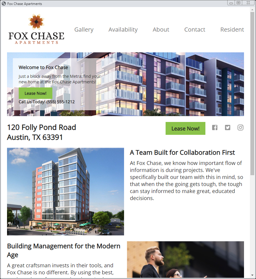 Property Marketing websites