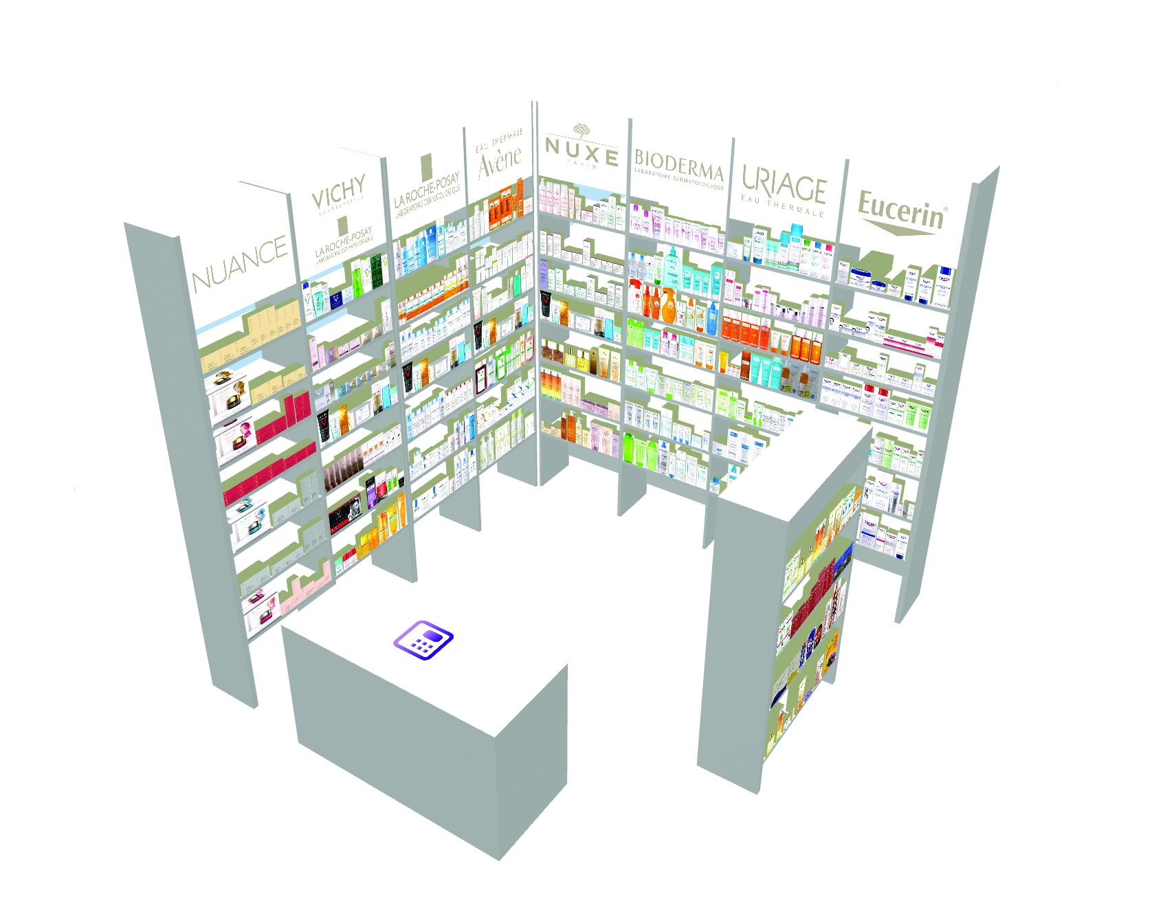3D Store Generated Automatically from 2D Floor Plan and Planograms