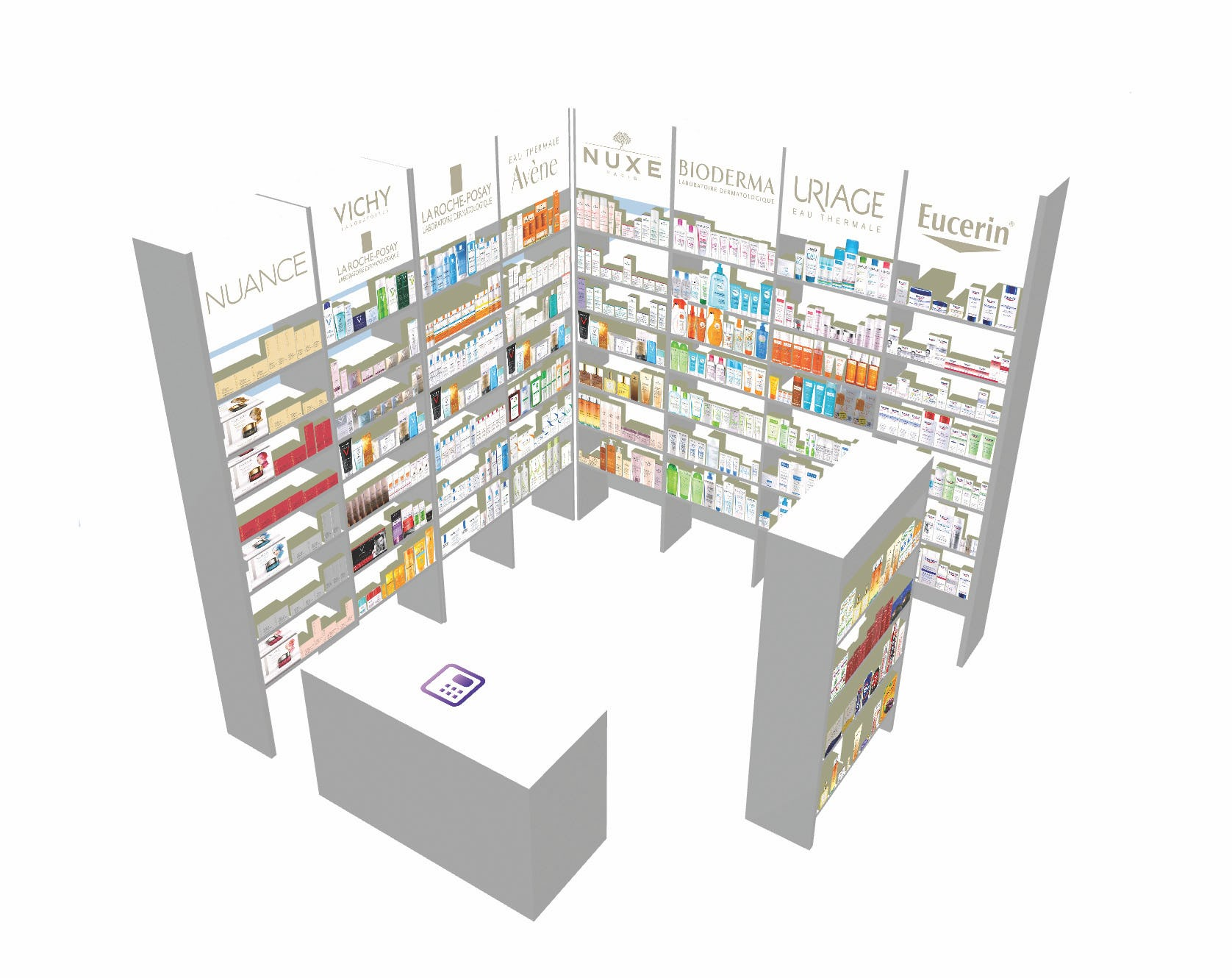 Quant Software - 3D Store Generated Automatically from 2D Floor Plan and Planograms