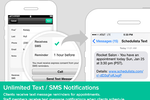Schedulista screenshot: Unlimited SMS/Text message reminders