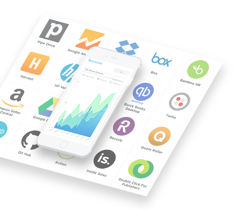 With over 150 integrations, Grow makes it easy to quickly connect to tools, apps and services