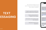 Wellable screenshot: Wellable text messaging content