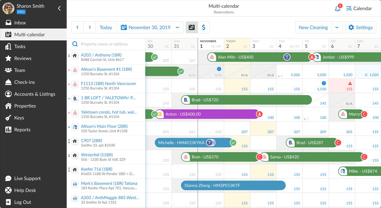 Multi-Calendar
