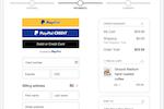 Capture d'écran pour PayPal :