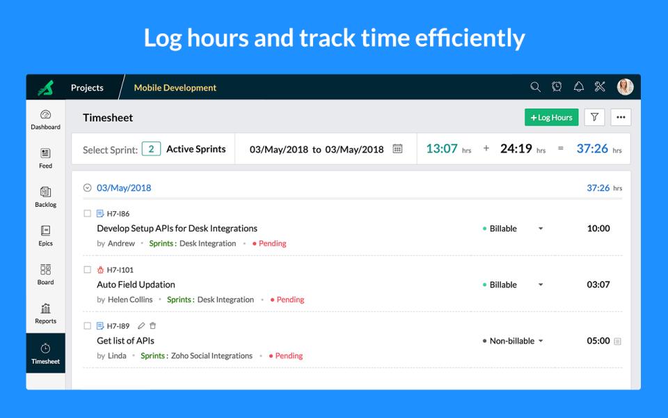 Zoho Sprints Software - 4
