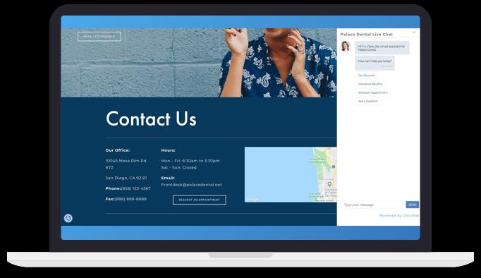 Website messenger