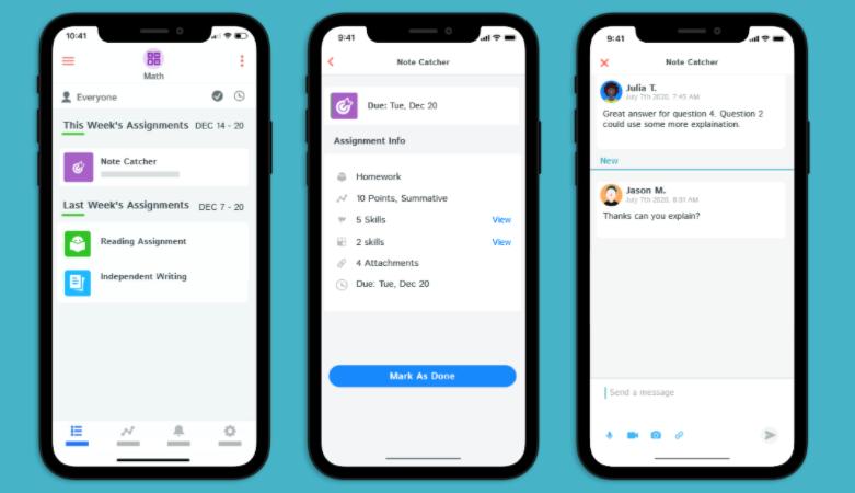 Kiddom Software - Interactive App