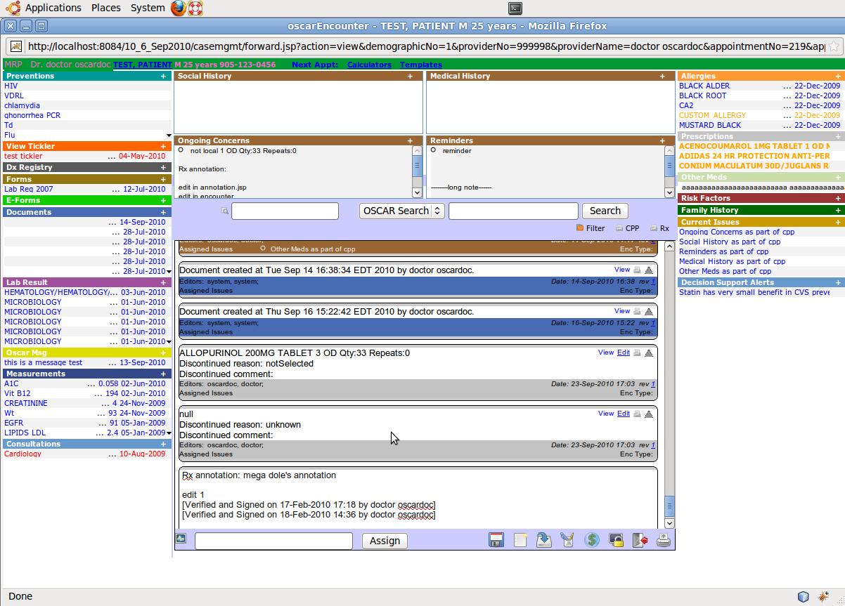 Oscar EMR by Oscar McMaster Software - 4