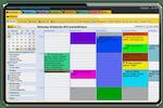 Schermopname van ezyVet: ezyVet Calendar