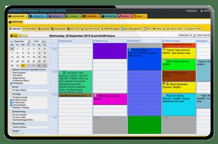 ezyVet Calendar