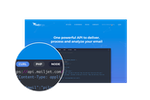 Captura de tela do Mailjet: One Powerful API