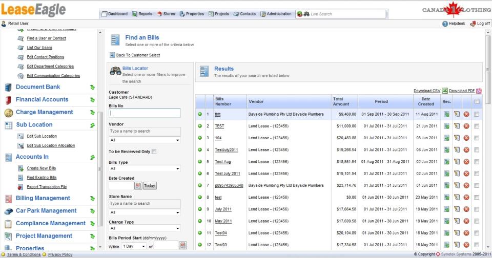 LeaseEagle Software - 2
