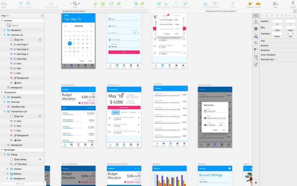 Indigo.Design sample application development