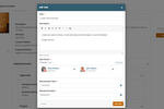 Qmarkets Idea Management screenshot: Qmarkets' Project Management Task Assignment Form