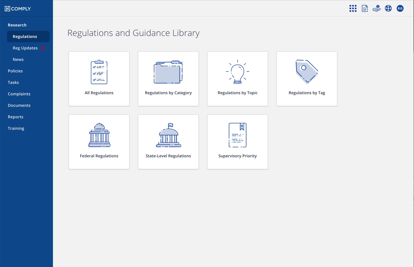 Ncomply Regulations and Guidance Library