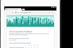 Captura de pantalla de Google Workspace: Create custom forms for online surveys and questionnaires