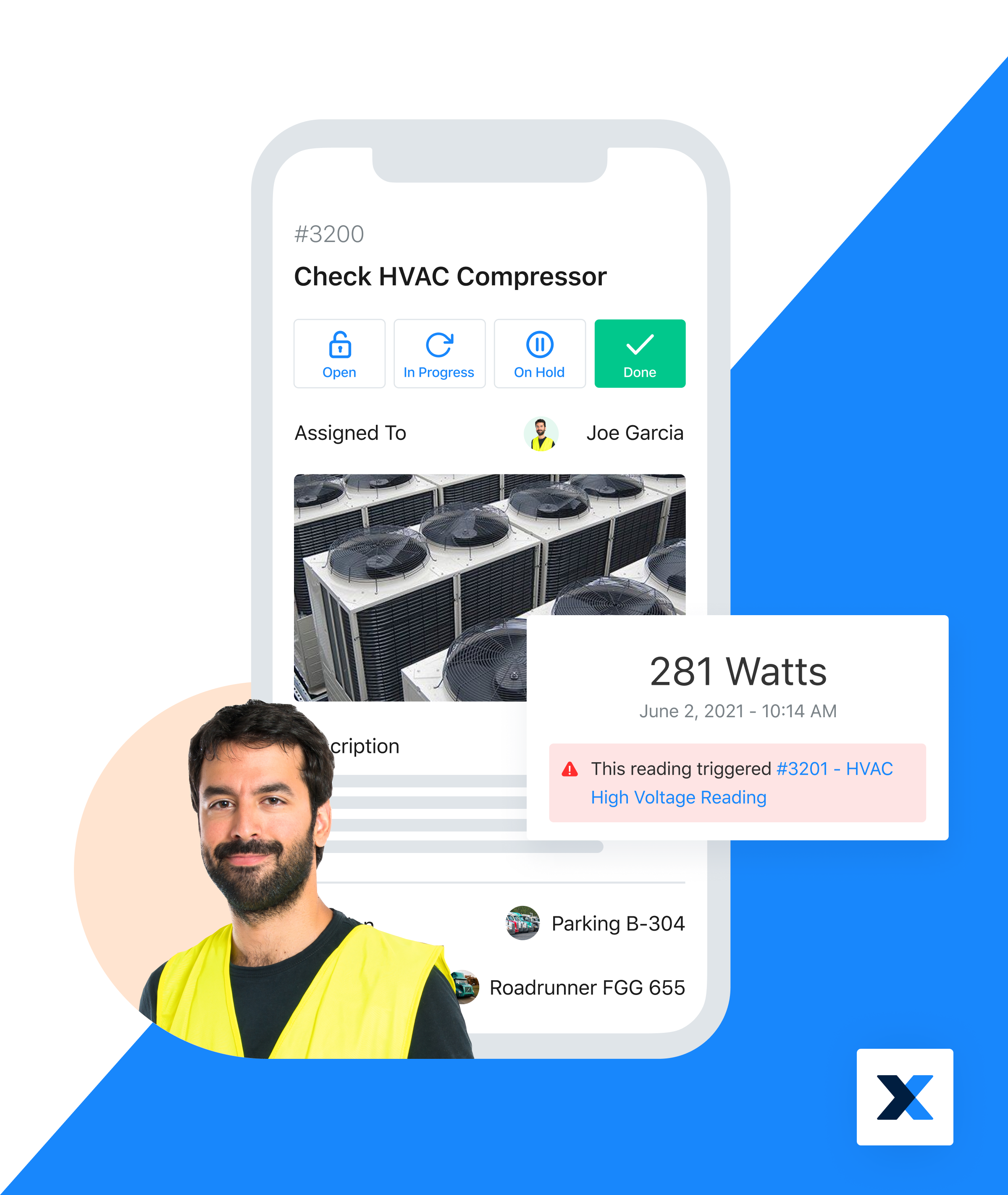 MaintainX Software - Manage IoT sensors and Meter Readings with MaintainX