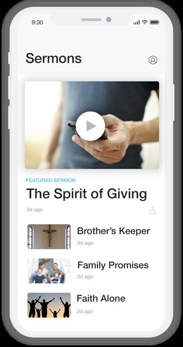 easyTithe MinistryOne app