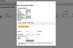 Continue to Give screenshot: Edit the amount and details of a recurring donation, and modify billing cycles