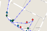 Ecanvasser screenshot: Set targets for the team and track them in real time